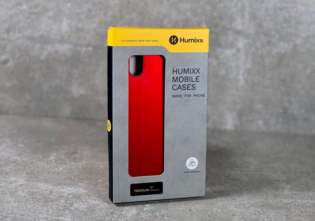 Die Humixx iPhone X Hülle in Rot - günstig, hübsch und passgenau schützt sie vor Stößen und Kratzern.