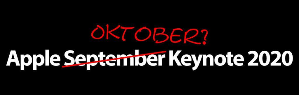 Bei der Apple September Keynote 2020 könnte sich der Termin auf Oktober verschieben. Nichtsdestotrotz werden wohl vier iPhone 12 Modelle vorgestellt. Zu weiteren Inhalten ist noch nichts bekannt.