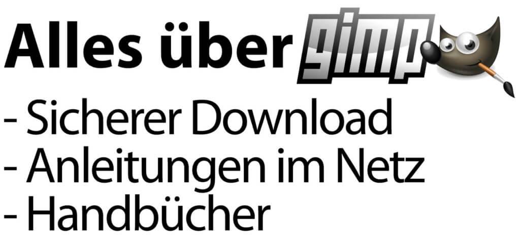 Der kostenlose GIMP Download für Mac, Windows und Linux sowie GIMP Tutorials auf deutsch und das richtige Handbuch zur Version 2.10 findet ihr hier!