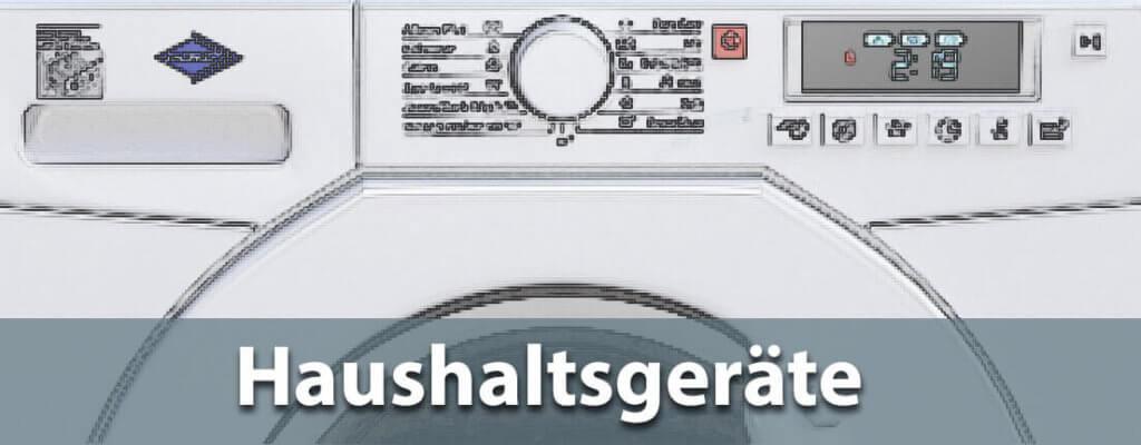 Unter den Haushaltsgeräten findet man viele spannende, technische Neuerungen, wie Wärmepumpentrockner, Stausauger-Roboter oder Induktionsherde (Foto: Pixabay).