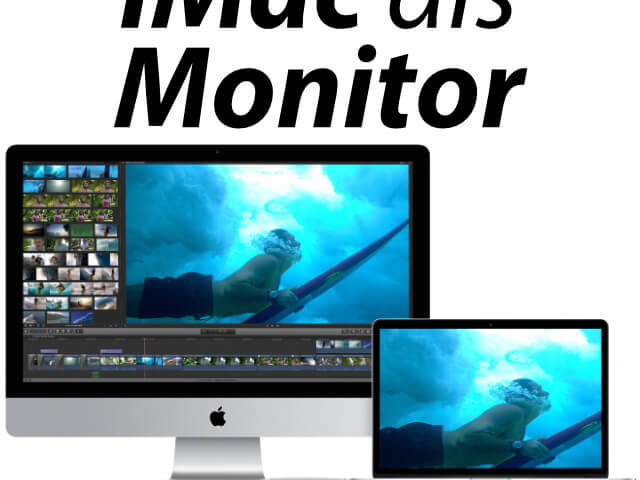 Alter Imac Als Monitor Anleitung Fur Die Bildschirm Synchro Sir Apfelot