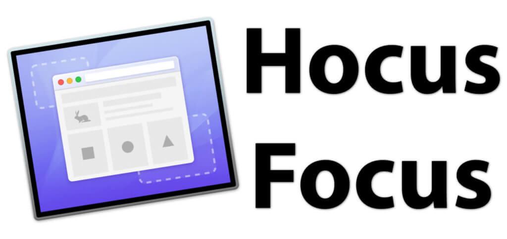 Mit der Hocus Focus App können Programmfenster automatisch ausgeblendet werden - so bleibt der Mac Schreibtisch ablenkungsfrei.