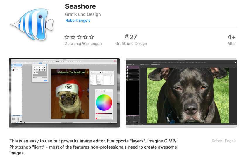 Das kostenlose Projekt Seashore ist eine Bildbearbeitungssoftware, die unter der Open Source Lizenz angeboten wird.