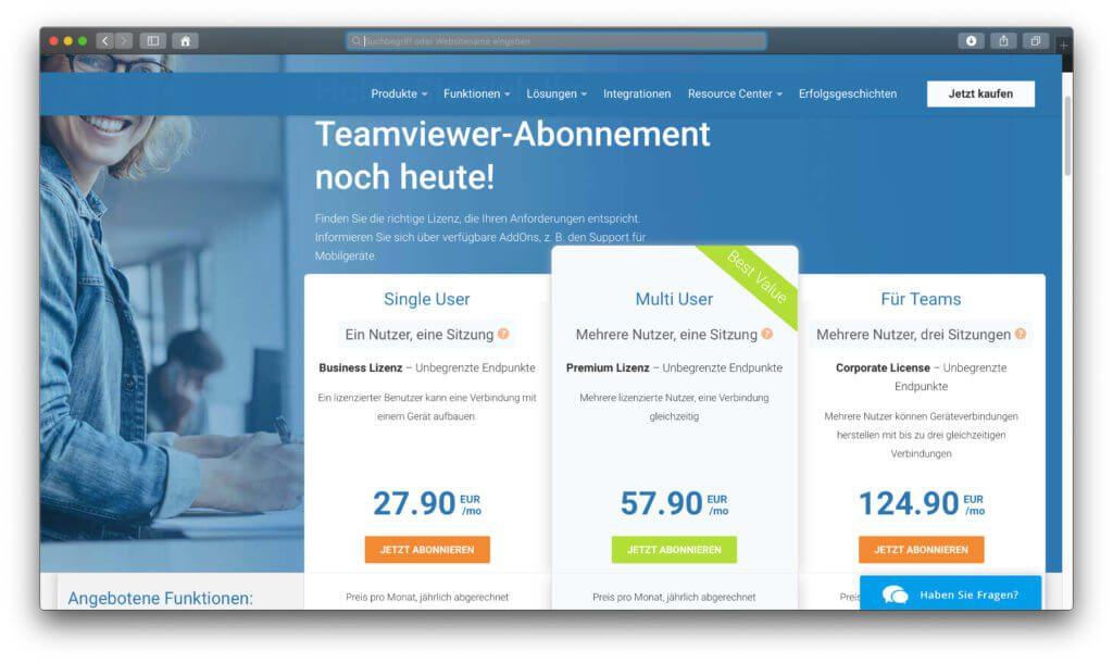 Für den privaten Support an Mac und PC ein teures TeamViewer-Abo abschließen? Ein Blick auf gratis Alternativen lohnt eher!