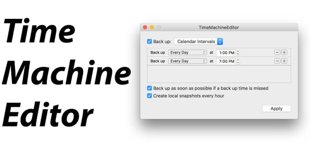 Die TimeMachineEditor App hilft euch dabei, das Time Machine Backup zeitlich zu planen. Neben dem Editor mit individuellen Zeitplänen gibt es aber auch noch Asimov - eine der auf Entwickler spezialisierten Apps.