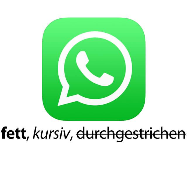 In Whatsapp Fett Kursiv Und Durchgestrichen Schreiben Sir Apfelot