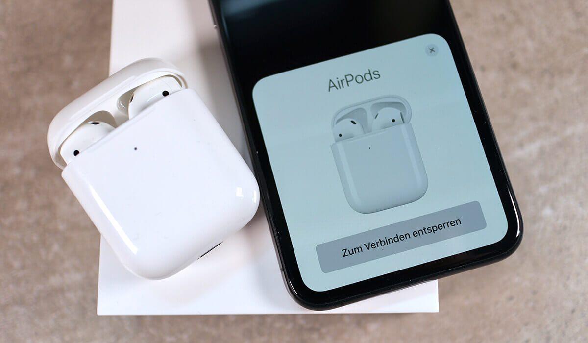AirPods 8 einrichten und mit iPhone, iPad oder Mac verbinden