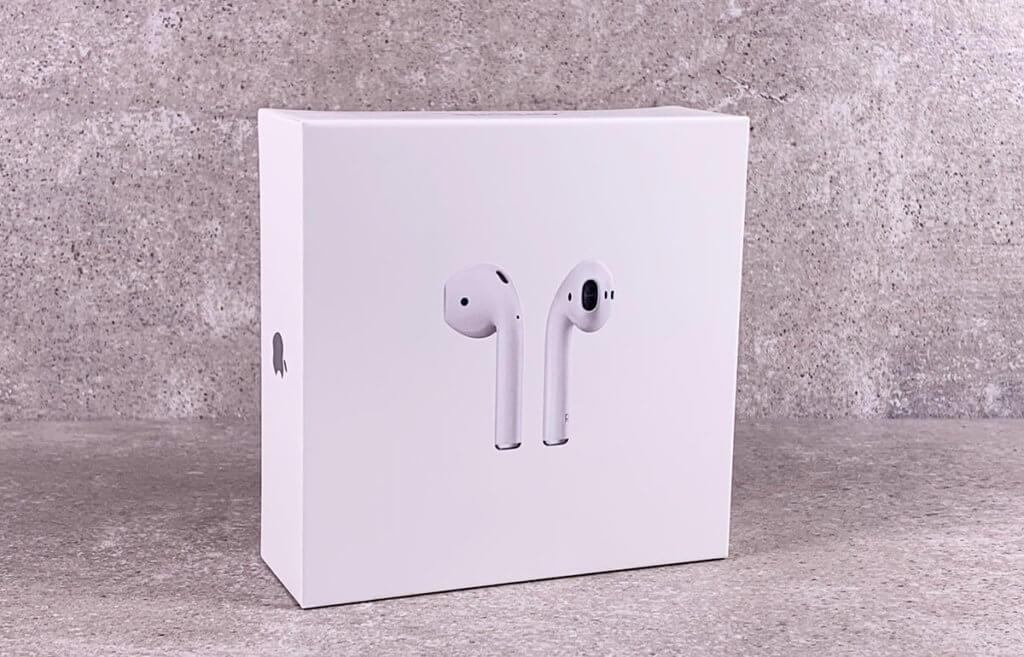 Verpackung der AirPods 2. Generation – was taugen die Apple True Wireless Kopfhörer wirklich?
