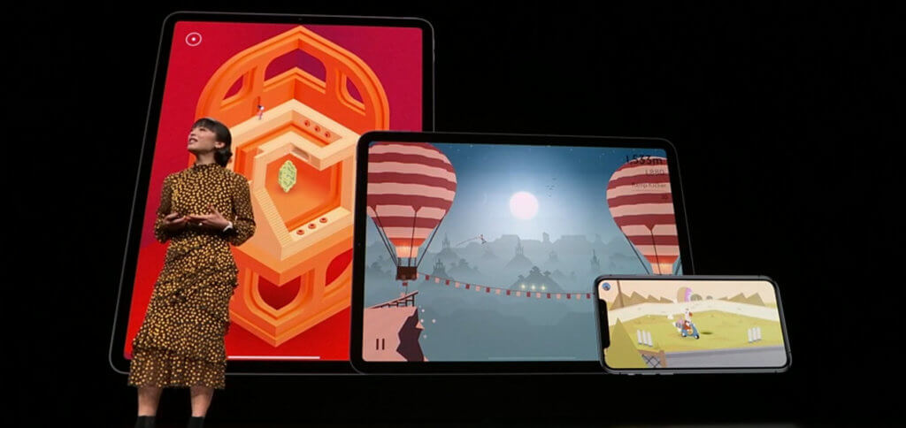 Mit Apple Arcade sollen zum Launch im Herbst 2019 für Nutzer in über 150 Ländern bereits mehr als 100 Spiele zur Verfügung stehen.