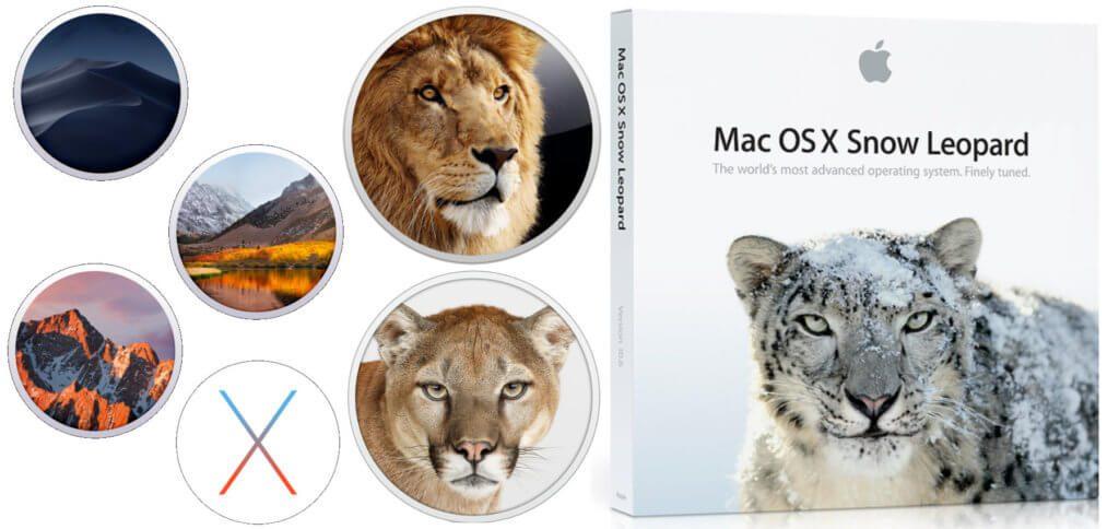 Download-Liste: Installer alter macOS und OS X Versionen » Sir Apfelot