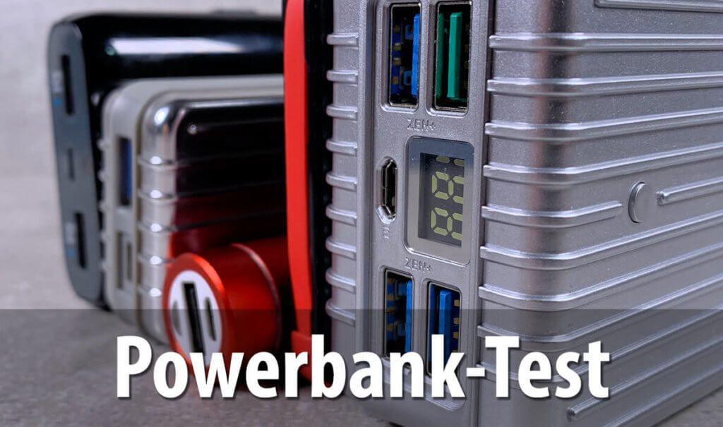 Im Test von Computer Bild 01/2019 wurden Powerbanks unter die Lupe genommen (Foto: Sir Apfelot).
