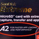 Was bedeuten die Abkürzungen A1 und A2 auf SD-Karten?