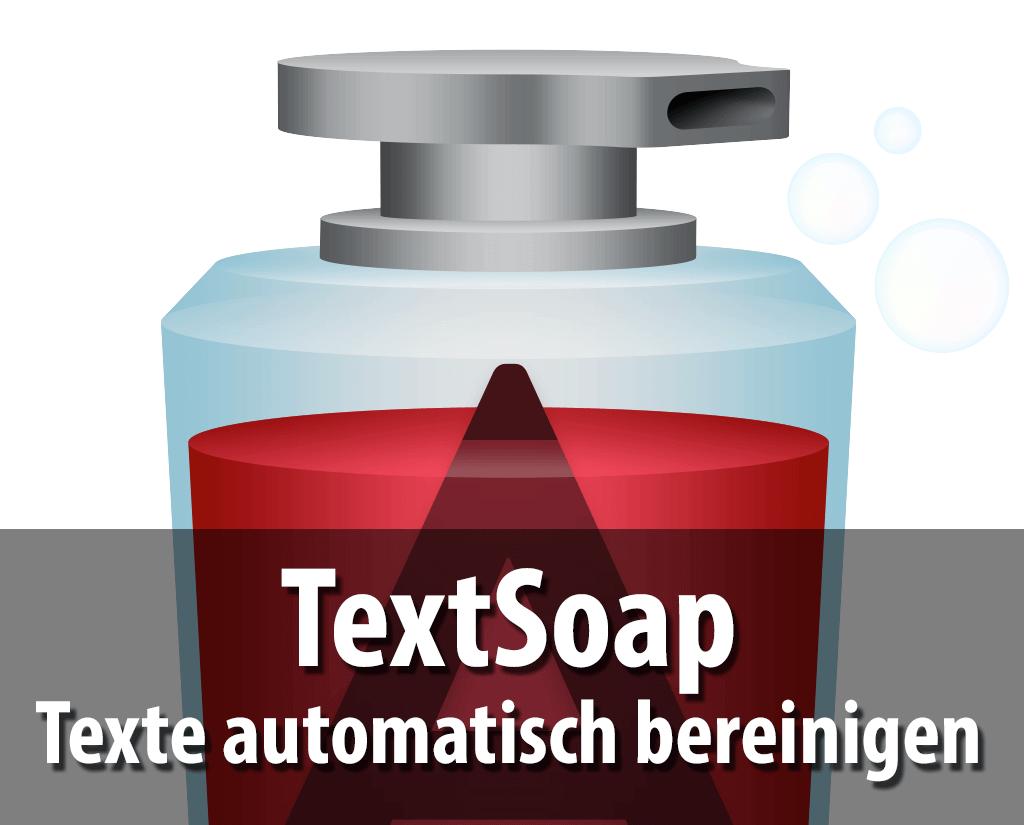 Mit TextSoap lassen sich beliebige Texte automatisch nach vielen typografischen und formellen Elementen gleichzeitig durchsuchen und korrigieren.