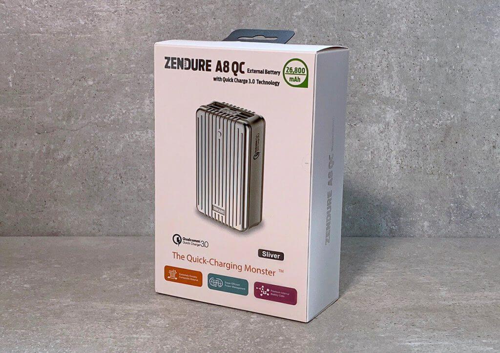 Dieses Mal im Test: Die Zendure A8QC Powerbank mit Quick Charge 3.0 Funktion und 26.800 mAh (Fotos: Sir Apfelot).