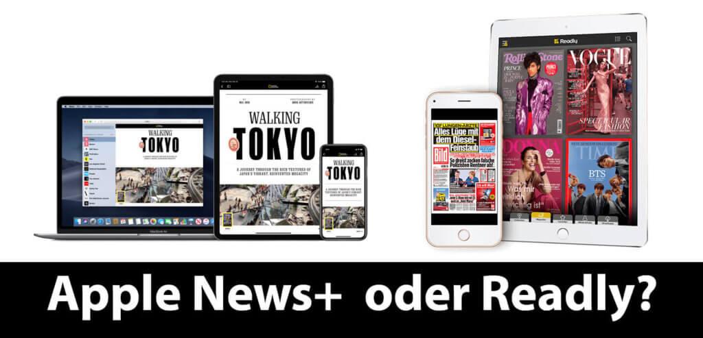 Aktuell stellt sich die Frage für deutsche Leser nicht, aber wenn Apple News+ in Deutschland startet, stellt sich die Frage, ob man Readly oder Apple News+ buchen soll.