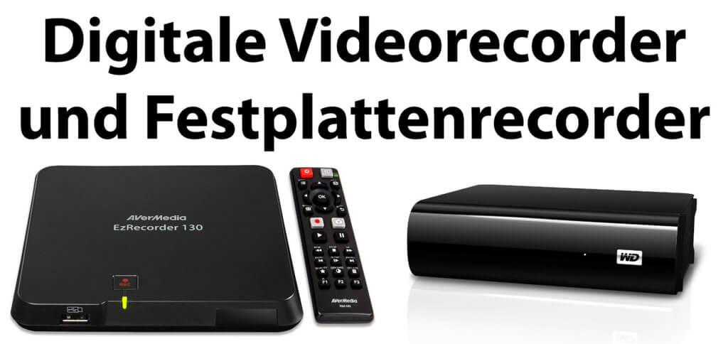 Digitale Videorecorder und Festplattenrecorder mit guten Bewertungen und positiven Kundenrezensionen bei Amazon findet ihr hier. Eine Bestseller-Liste mit Preis-Leistungs-Siegern ist auch dabei.