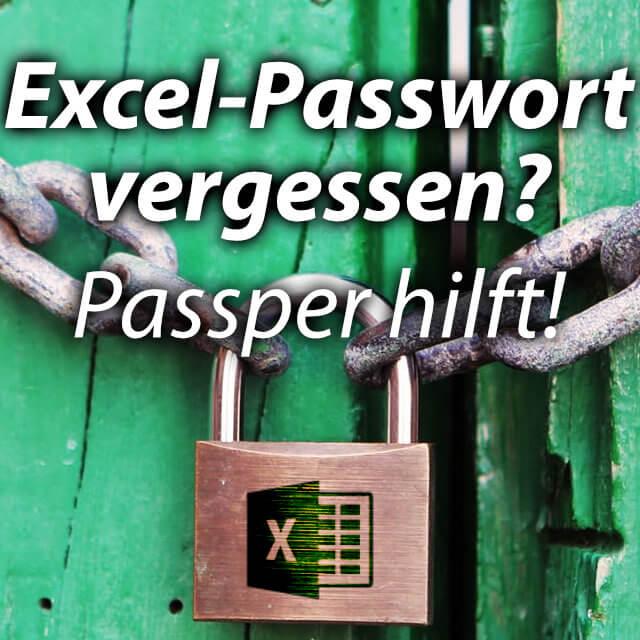 Excel datei passwort schützen