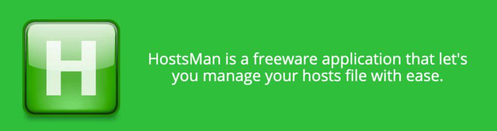 HostsMan bietet neben dem Editor für die Hosts-Datei auch eine Backupverwaltung, Fehlerkorrektur und vieles mehr an.