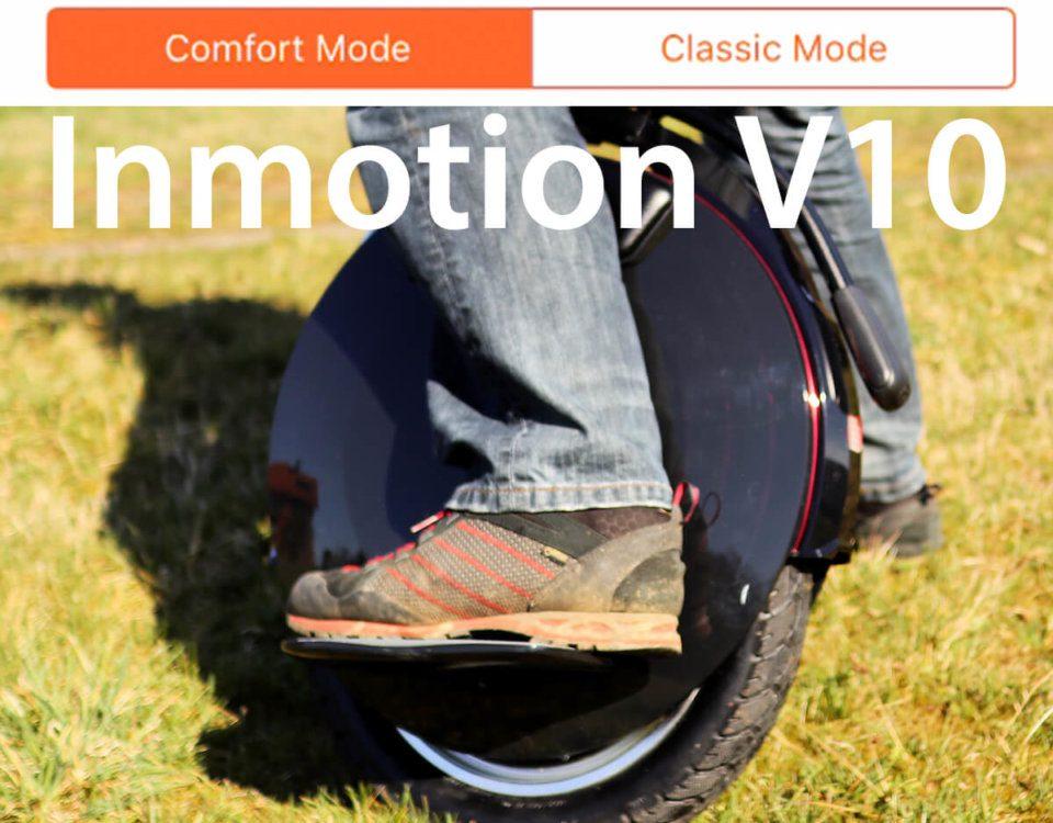 Drive Mode beim Inmotion V10