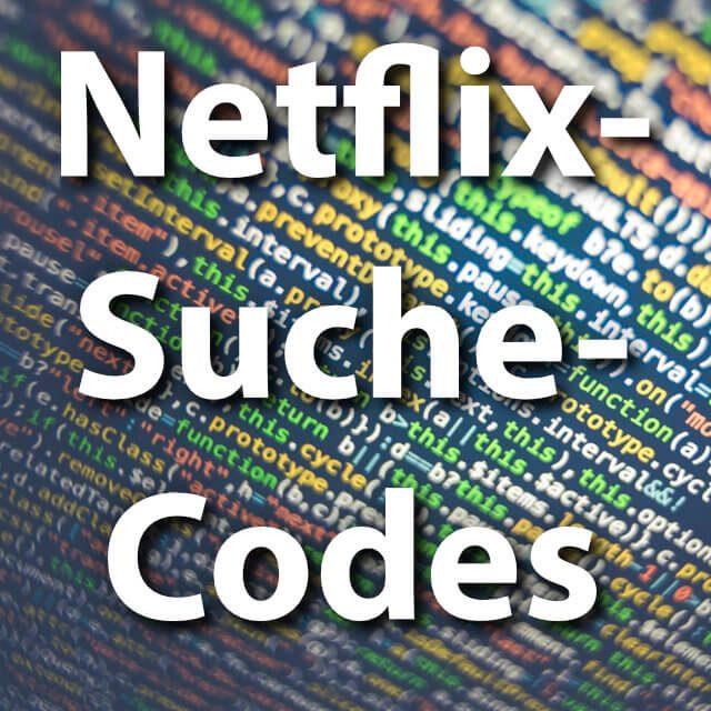 Netflix Suche