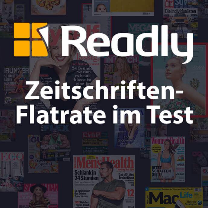 Die Zeitschriften-Flatrate von Readly im Langzeit-Test