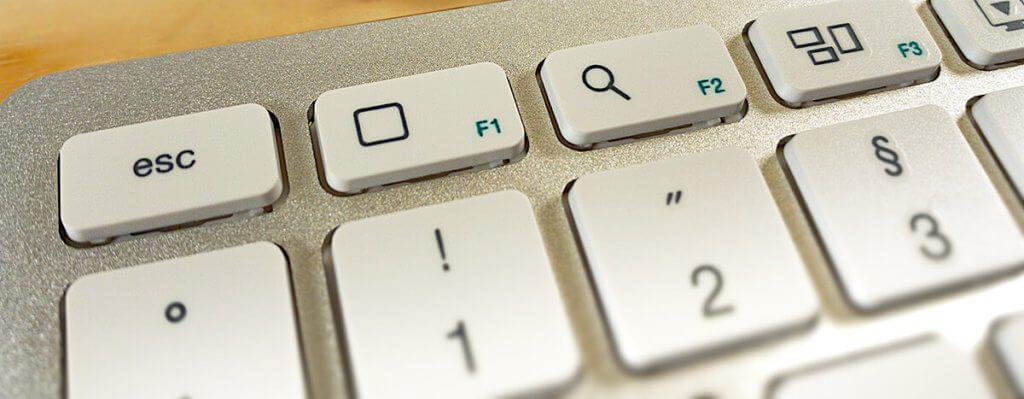 Die Sondertasten für iOS und macOS sind eine Besonderheit der Satechi-Tastatur. Dafür fehlen Tasten für die Anpassung der Bildschirmhelligkeit.