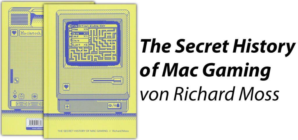 Das Buch The Secret History of Mac Gaming von Richard Moss zeigt die Videospiele-Geschichte am Apple-Computer auf. Auch als günstiges Kindle eBook bei Amazon verfügbar ;)