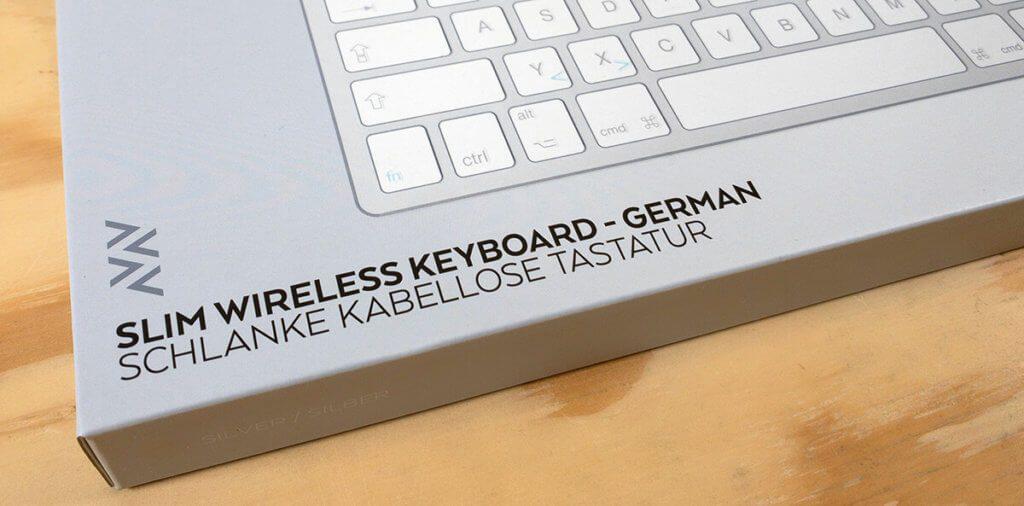 Das Slim Wireless Keyboard von Satechi wurde speziell für IOS und macOS Nutzer entwickelt (Fotos: Sir Apfelot).