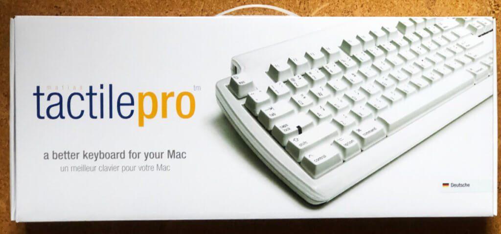 Die Verpackung der Tactile Pro ist gut, um das Tastatur-Schwergewicht beim Transport zu schützen (Fotos: Jochen Brockmann).