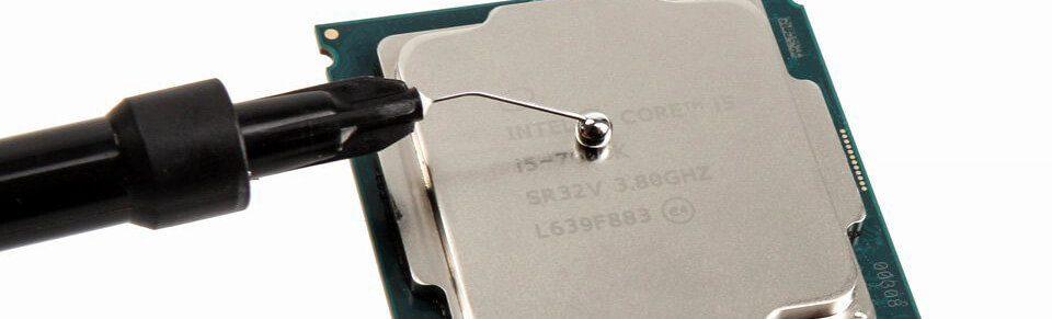 Die Flüssigmetall-Wärmeleitpasten wie die Thermal Grizzly Conductonaut sind in der Anwendung deutlich anspruchsvoller als normale Wärmeleitpasten (Foto: Thermal Grizzly).