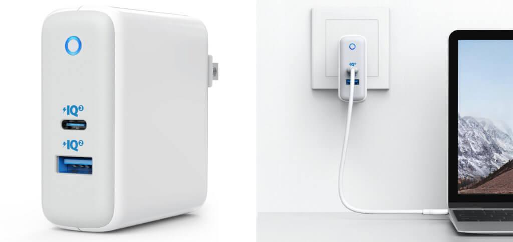 Vom Apple MacBook hin zu iPhone, iPad und Android-Geräten lassen sich mit dem Anker PowerPort+ Atom III (2-Port) verschiedene Geräte schnell aufladen.