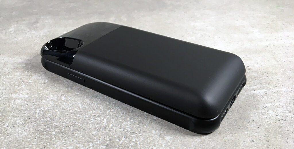 Für eine Akku-Hülle sieht das Case von hardwrk erstaunlich gut aus. Deutlich besser als das Pendant von Apple, das mit einem Quasimodo-Buckel daher kommt und dazu noch ein Vielfaches von diesem Akku-Case kostet.