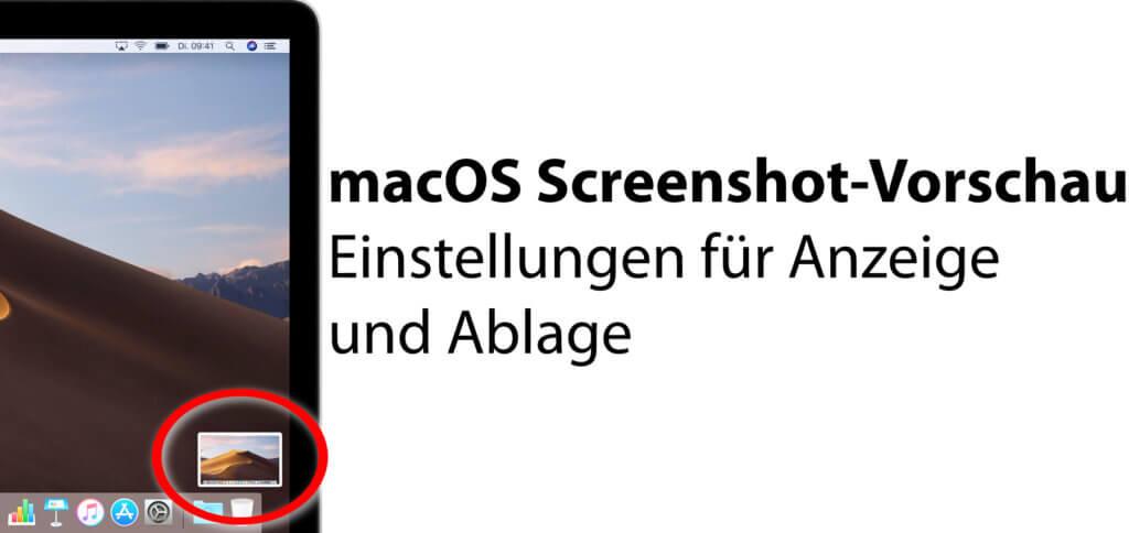 Ihr wollt am Apple Mac, iMac oder MacBook die macOS Screenshot-Vorschau abschalten oder verkürzen? Hier gibt's die passende Schritt-für-Schritt-Anleitung ;)