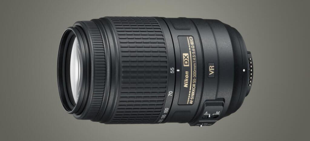 Das AF-S DX NIKKOR 55-300 mm 1:4,5-5,6G ED VR ist ein extrem gutes Teleobjektiv für die Nikon D5300 (Foto: Nikon).