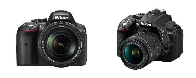 Die Nikon D5300 bietet mit ihrem APS-C-Sensor eine Auflösung von 24 Megapixeln. Die Auswahl der kompatiblen Objektive ist aufgrund ihrer weiten Verbreitung sehr groß (Foto: Nikon).