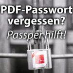 PDF-Passwort entfernen – So knackt man eine geschützte PDF-Datei