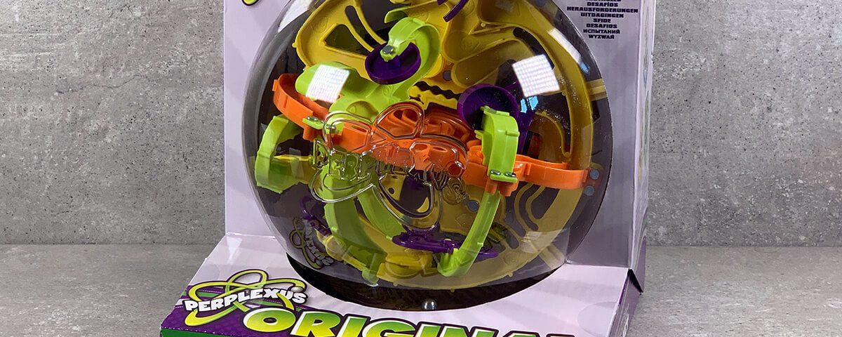 Das Kugellabyrinth Spin Master Perplexus Original ist eine der Preplexus-Varianten, die man als mittelschwer einstufen kann (Fotos: Sir Apfelot).