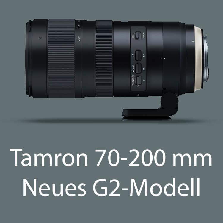 Teleobjektiv Tamron 70-200 mm G2