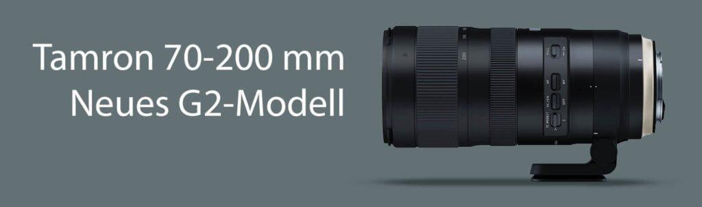 Mit dem G2 (Modell A025) hat Tamron das bewährte Tele-Ojektiv deutlich verbessert. Leider gibt es nur noch ein Modell für Canon und eins für Nikon. Die Variante für Sony ist nicht weiterentickelt worden (Foto: Tamron).
