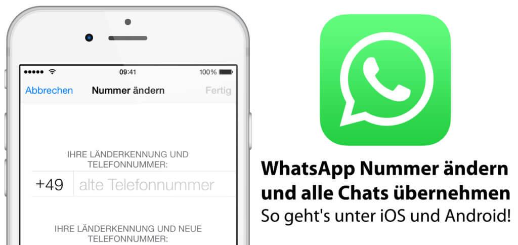 Auf dem iPhone oder unter Android die WhatsApp Nummer ändern, wenn ihr eine neue SIM-Karte habt: So funktioniert der Wechsel der Telefonnummer Schritt für Schritt!