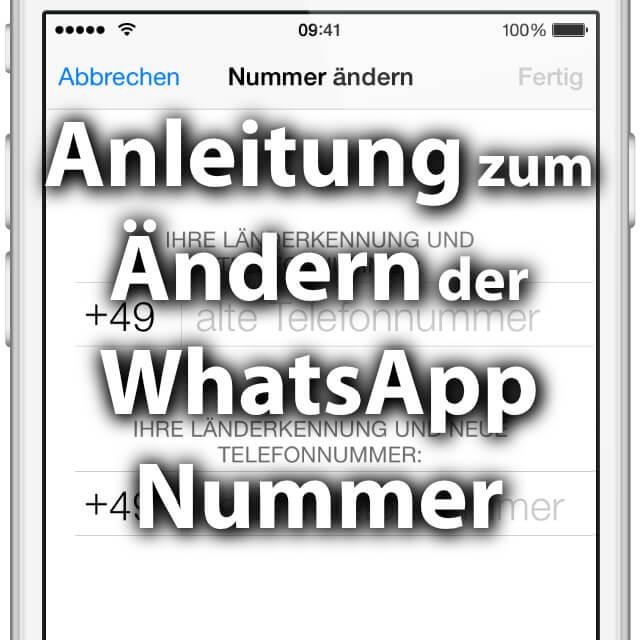 Sim Karte Wechseln Whatsapp.Whatsapp Nummer ändern Wechsel Der Rufnummer Sir Apfelot