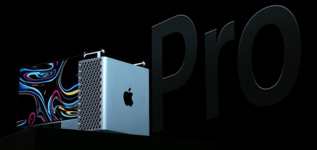 Der neue Apple Mac Pro, der auf der WWDC 2019 Keynote vorgestellt wurde. Neben dem neuen High-End-Computer gibt es auch ein neues Display mit XDR-Technologie.