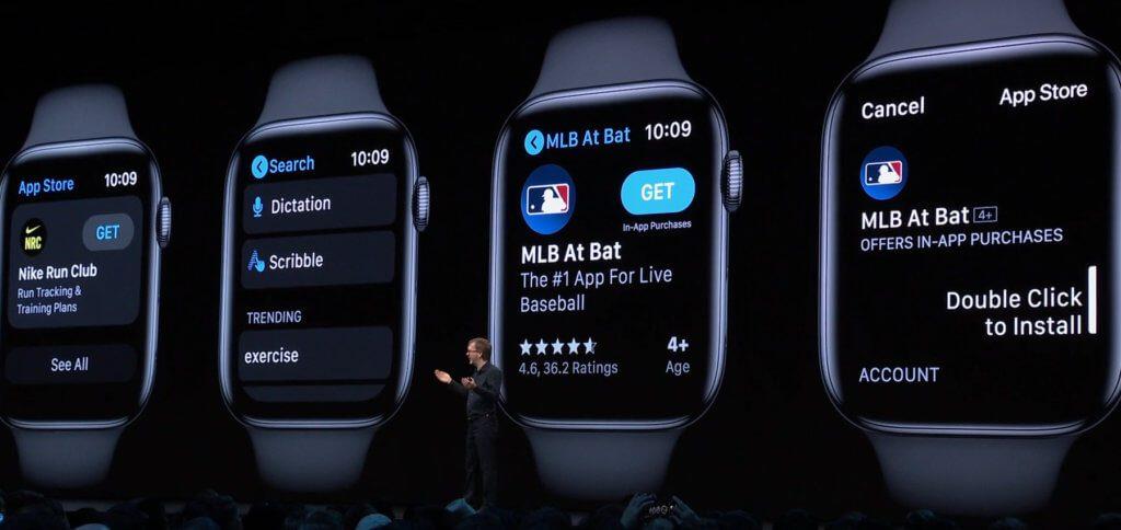 Der Apple Watch App Store ist eine abgespeckte und angepasste Version der bisherigen Versionen für iOS und macOS.