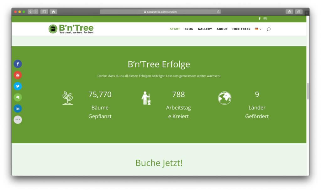 Das sind die bisherigen Erfolge und Zahlen von B'n'Tree, dem Start-Up von Chris Kaiser.