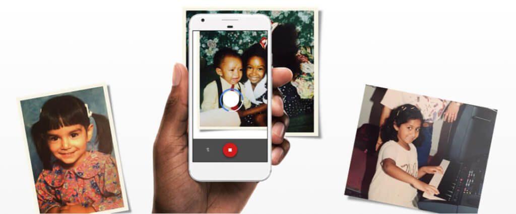 Mit der App PhotoScan von Google lassen sich Fotos sehr schnell digitalisieren – ganz ohne Reflexionen im Bild zu bekommen.