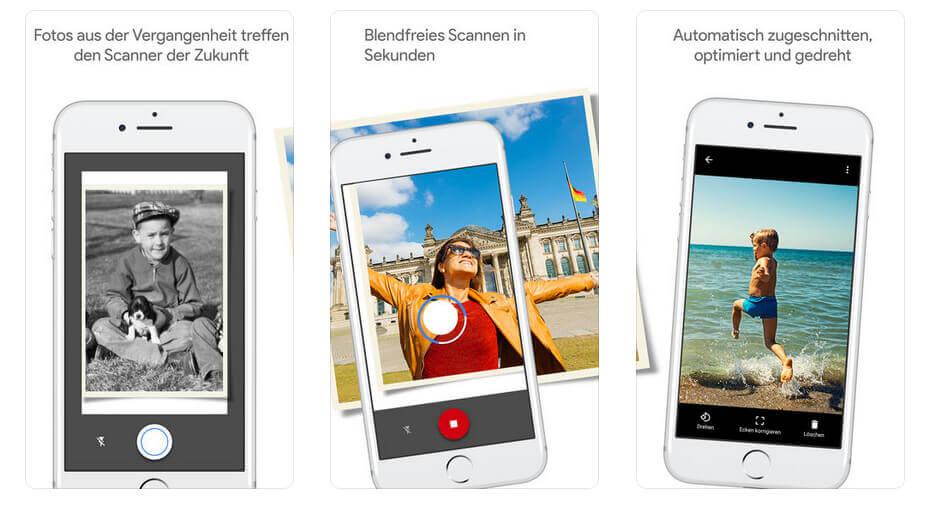 In wenigen, einfachen Schritten hat man mit Google PhotoScan seine Papierabzüge digitalisiert.