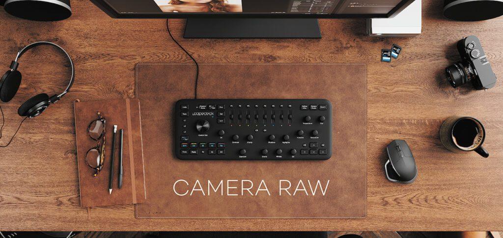 Das Loupedeck+ des finnischen Herstellers Loupedeck unterstützt nun Camera Raw für Adobe Photoshop und bringt entsprechend neue Funktionen mit. Bildquelle: Loupedeck