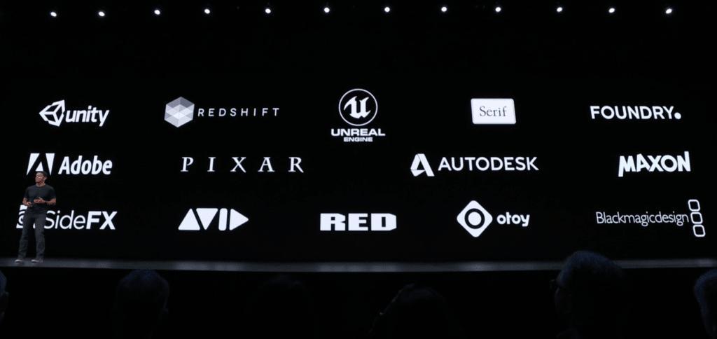 Namhafte Partner haben die Unterstützung von Hardware und System zugesagt.