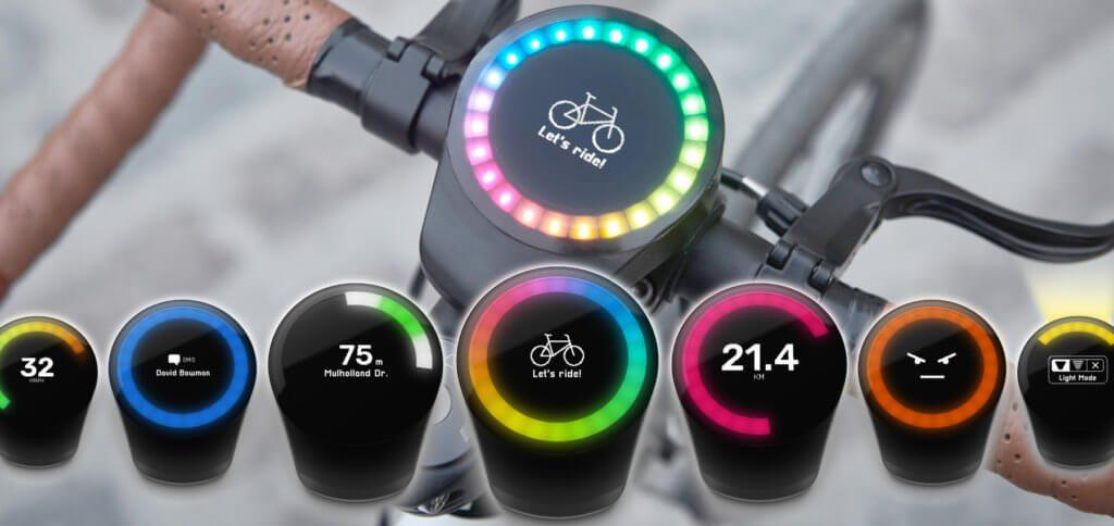 Das neue SmartHalo 2 mit Fahrrad-Navigation, Alarm, Nachrichten-Anzeige und Licht soll noch 2019 für ca. 139 Euro auf den Markt kommen.