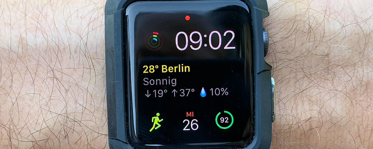 Spigen Apple Watch Case Rugged Armor Beitragsfoto